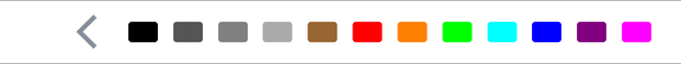 [Date color picker]